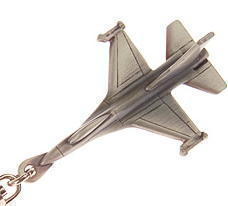 F16 Fighting Falcon Keyring