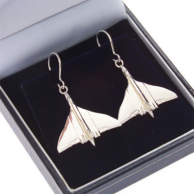 Vulcan Earrings Solid Silver