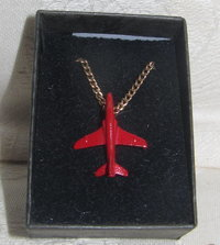 Red Arrows Pendant Enamel