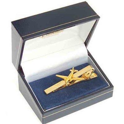 DC3 Dakota Tie Bar / Clip Gold Plated