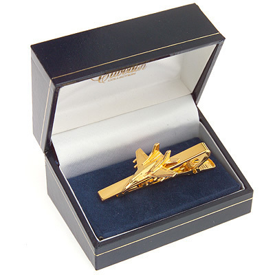 Mig 29 Fulcrum Tie Bar / Clip Gold Plated