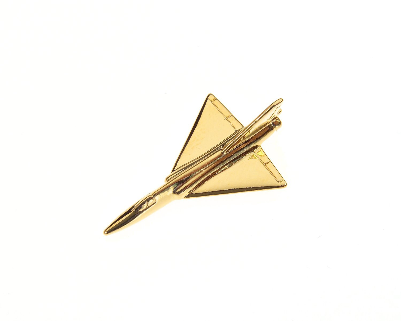 F106 Delta Dart Gold Plated Tie / Lapel Pin