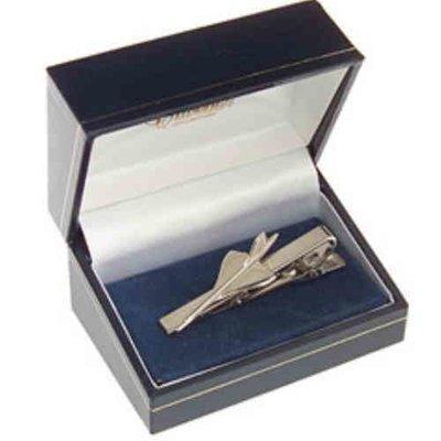Concorde Tie Bar / Clip Nickel Plated