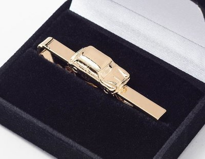 Mini Tie Bar / Clip Gold Plated