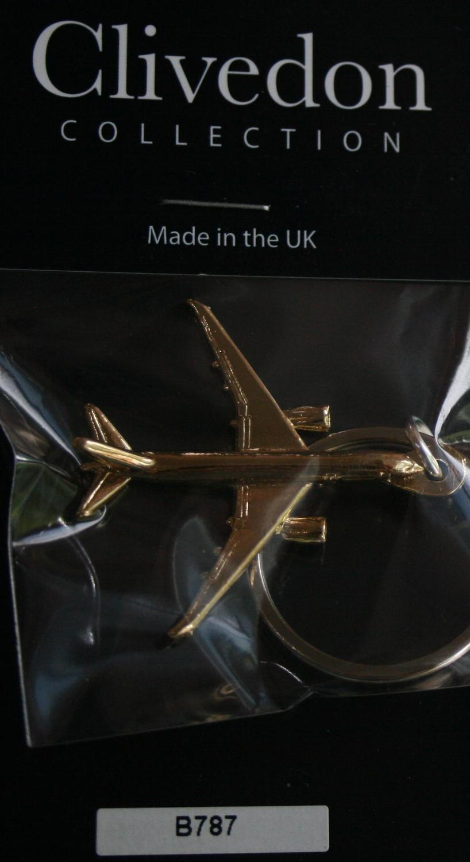 Boeing 787 Dreamliner Keyring