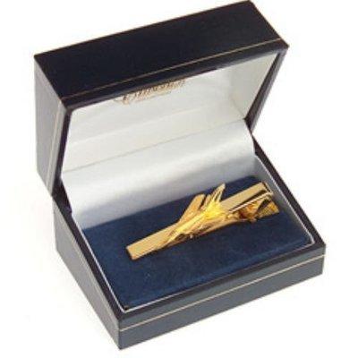 Tornado Tiebar / Clip Gold Plated