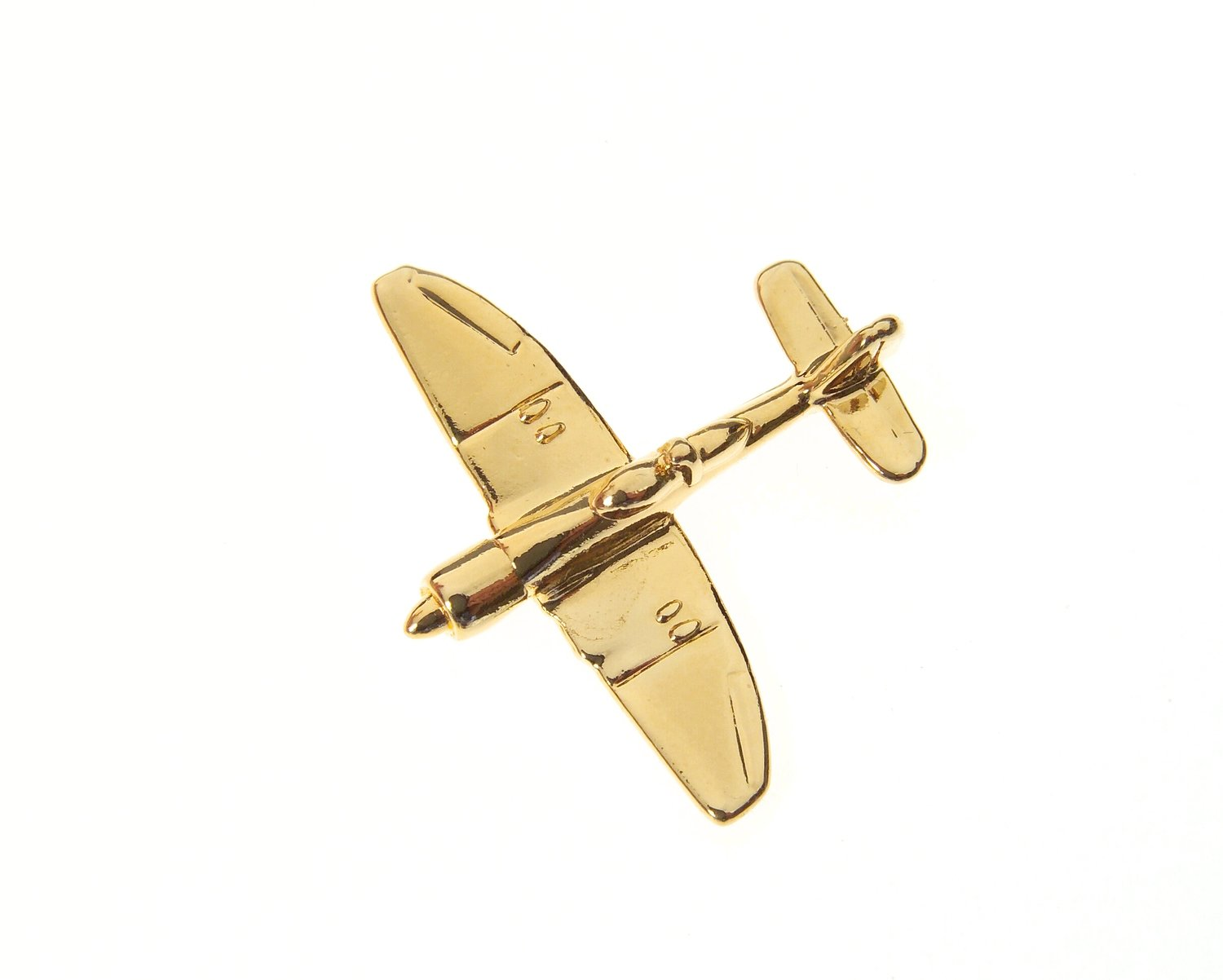 Sea Fury Gold Plated Tie / Lapel Pin