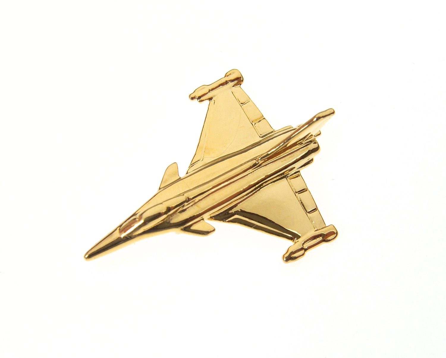 Rafale Gold Plated Tie / Lapel Pin