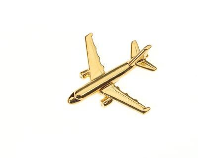 Airbus A319 Gold Plated Tie / Lapel Pin