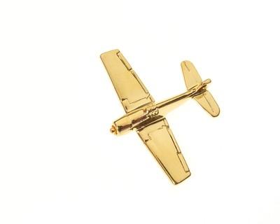 F6F Hellcat Gold Plated Tie / Lapel Pin