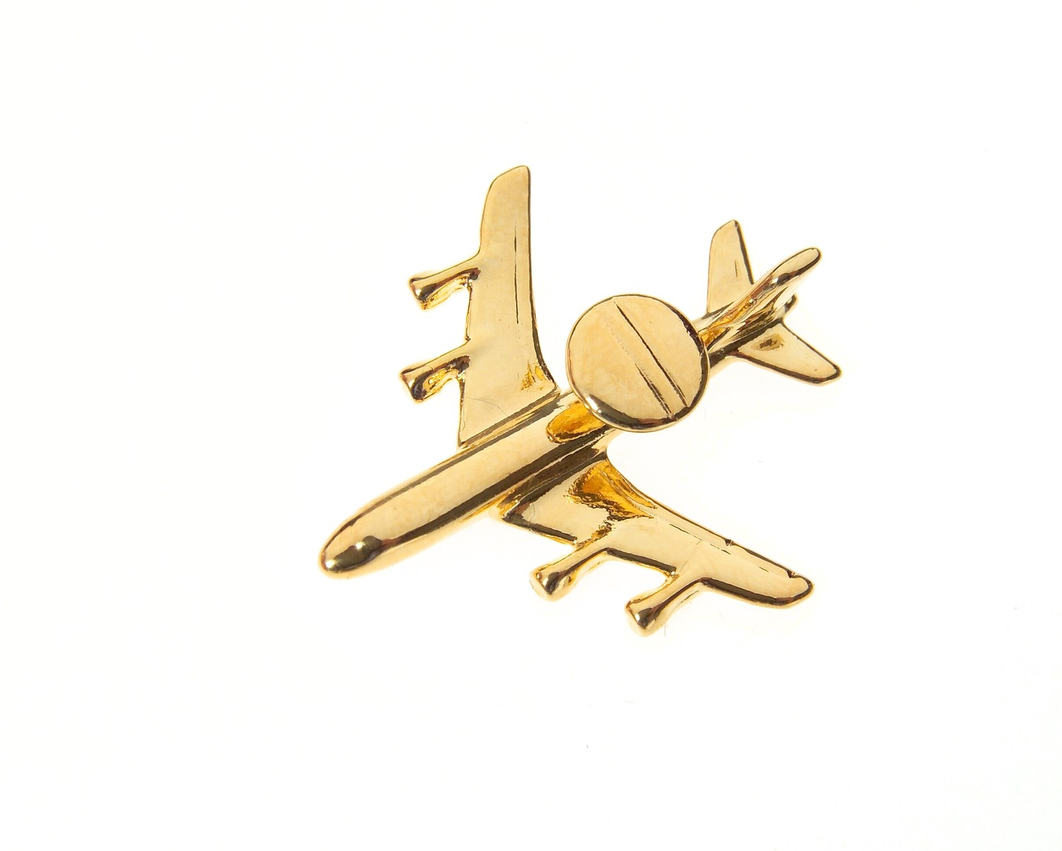 E3-A Sentry Gold Plated Tie / Lapel Pin