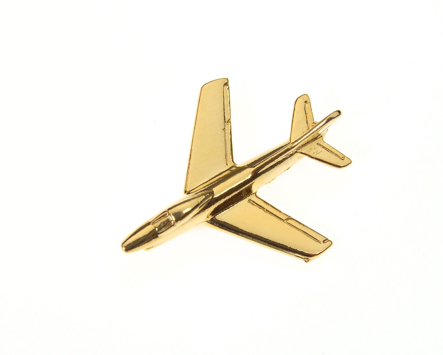 Fiat G91 Gold Plated Tie / Lapel Pin