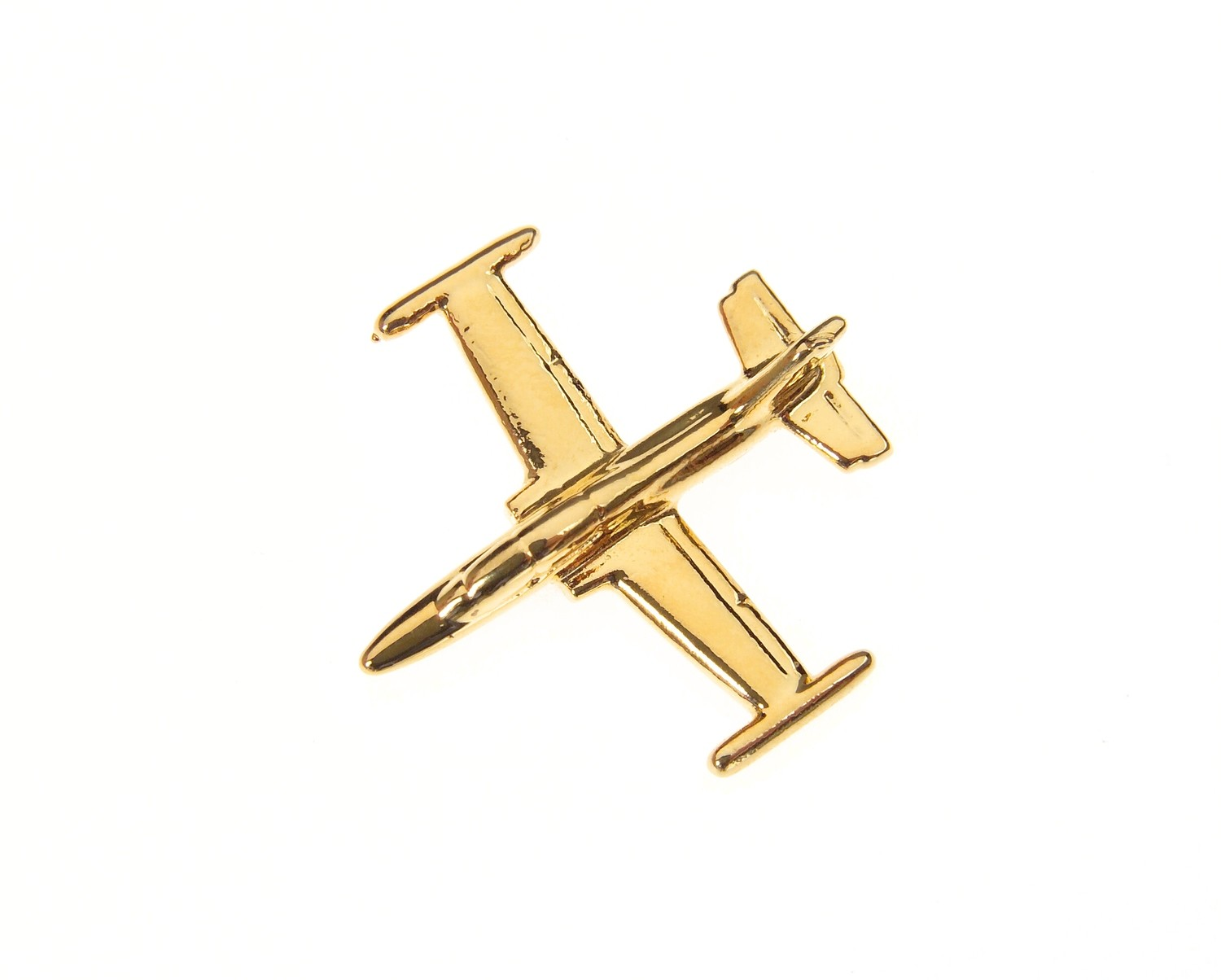 Aermacchi 339 Gold Plated Tie / Lapel Pin