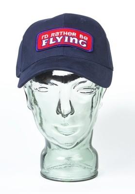 'I'd Rather be Flying' Baseball Hat