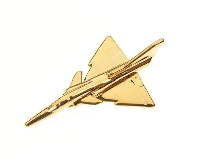 Kfir Gold Plated Tie / Lapel Pin