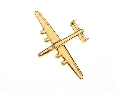 B24 Liberator Gold Plated Tie / Lapel Pin