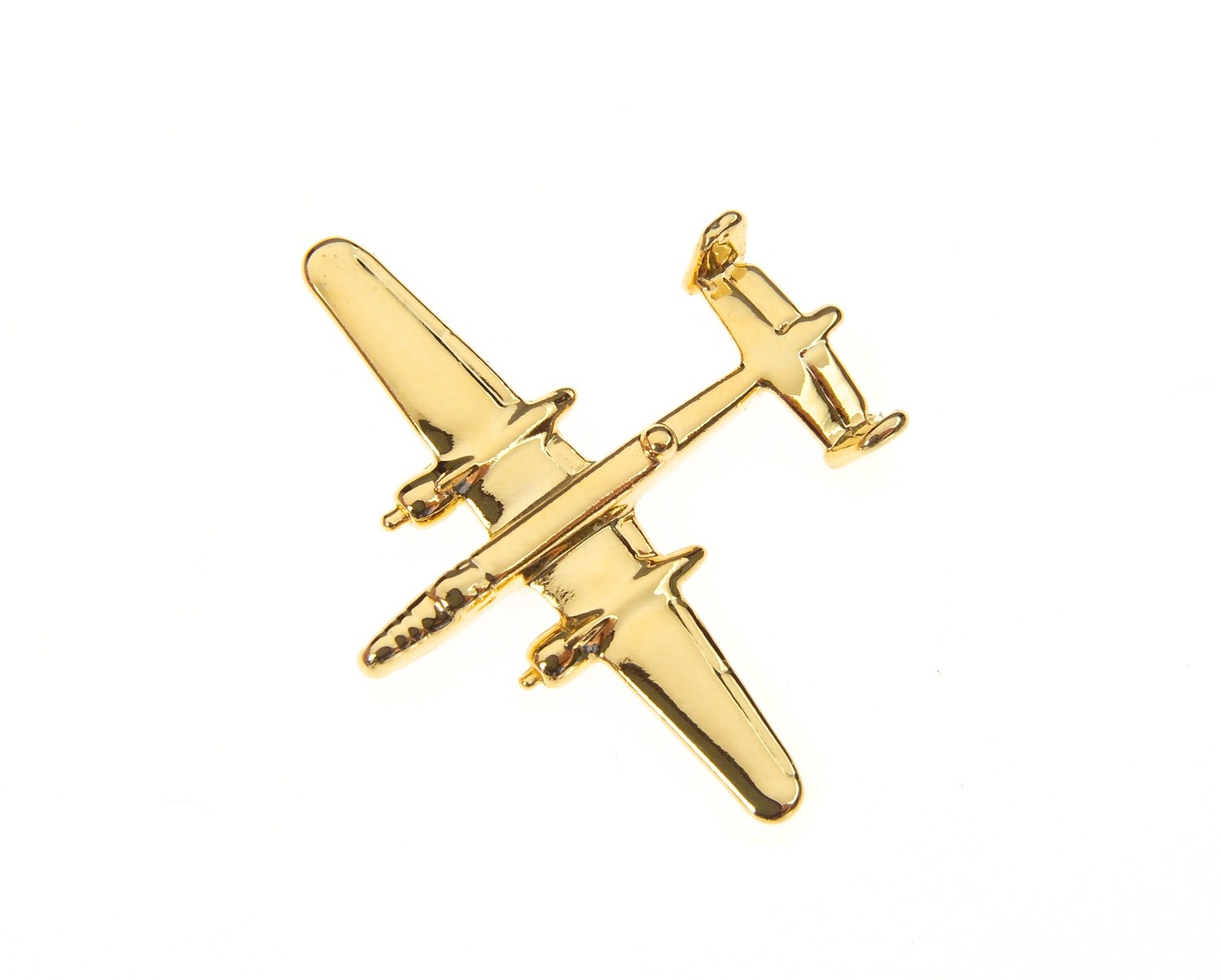 B25 Mitchell Gold Plated Tie / Lapel Pin