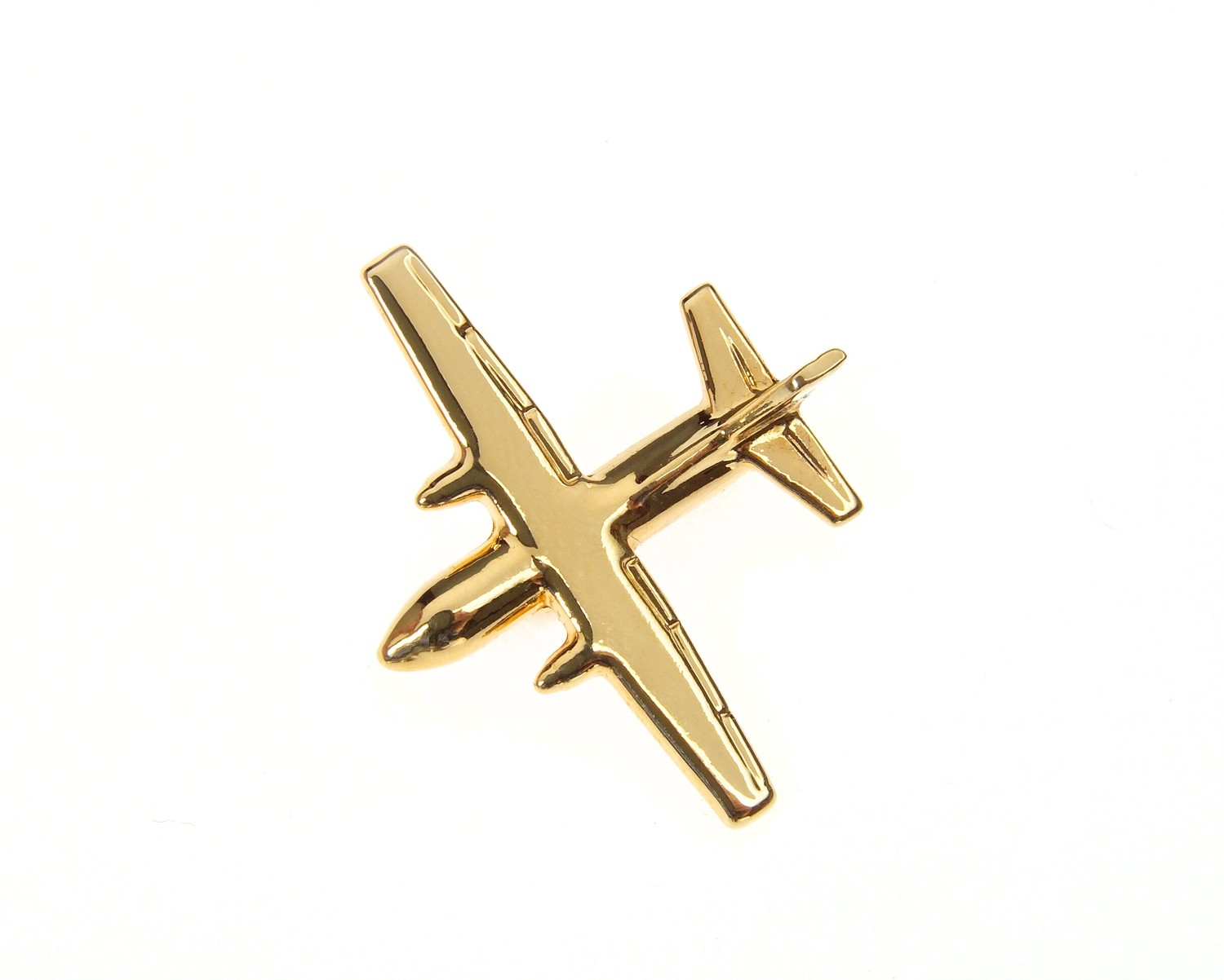 G222 Gold Plated Tie / Lapel Pin