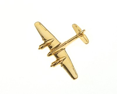 Beaufighter Gold Plated Tie / Lapel Pin