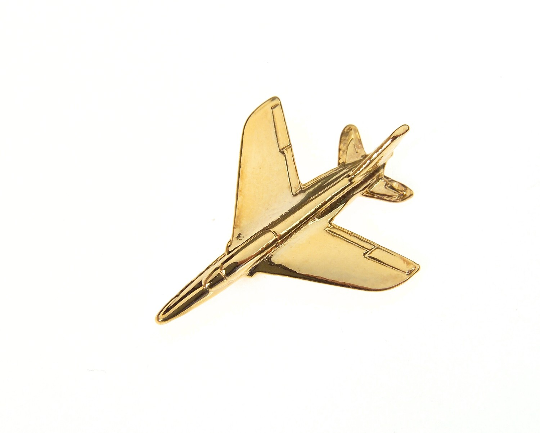 Folland Gnat Gold Plated Tie / Lapel Pin