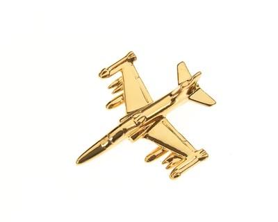 Hawk 100 Gold Plated Tie / Lapel Pin