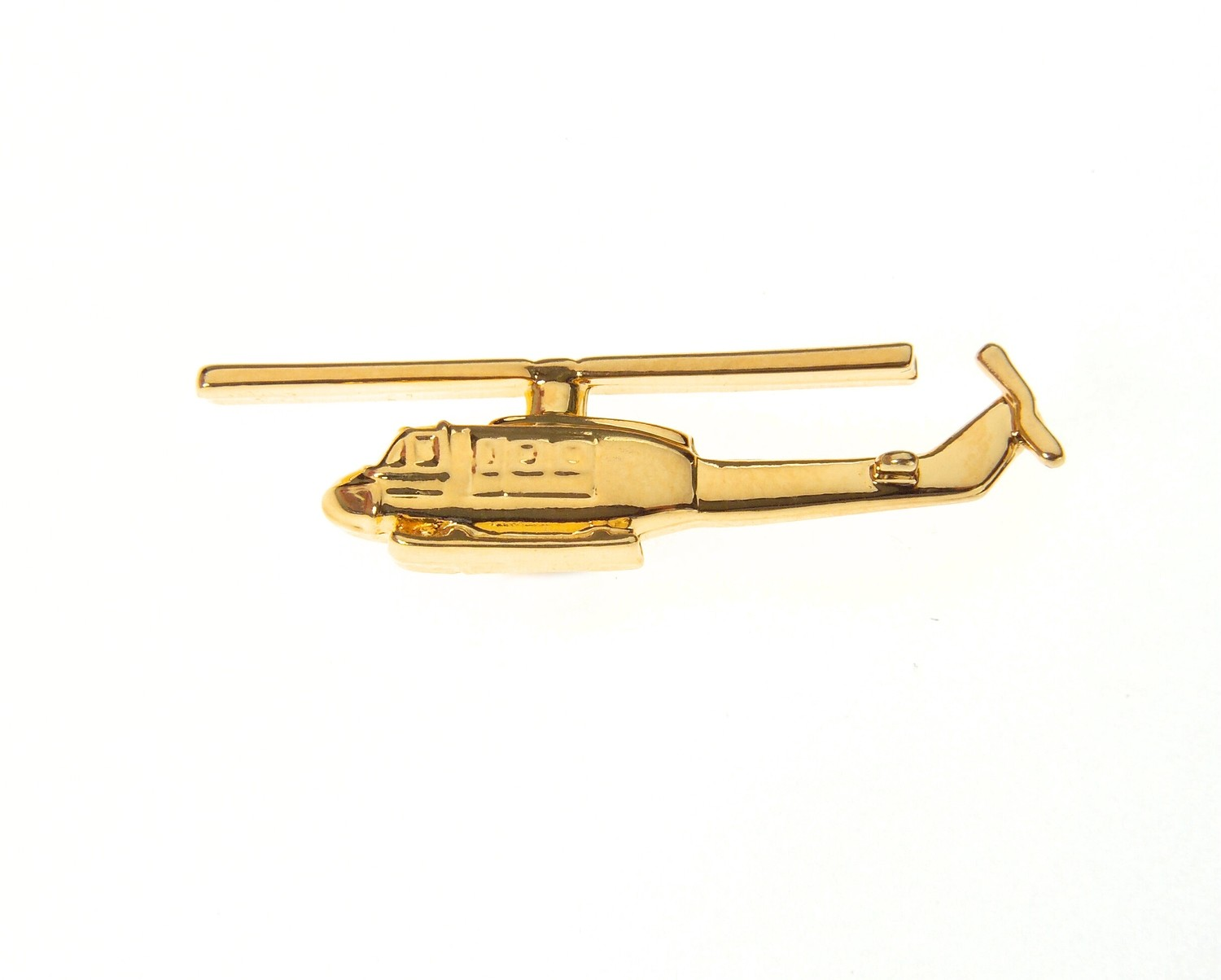 Iroquois 'Huey' Gold Plated Tie / Lapel Pin