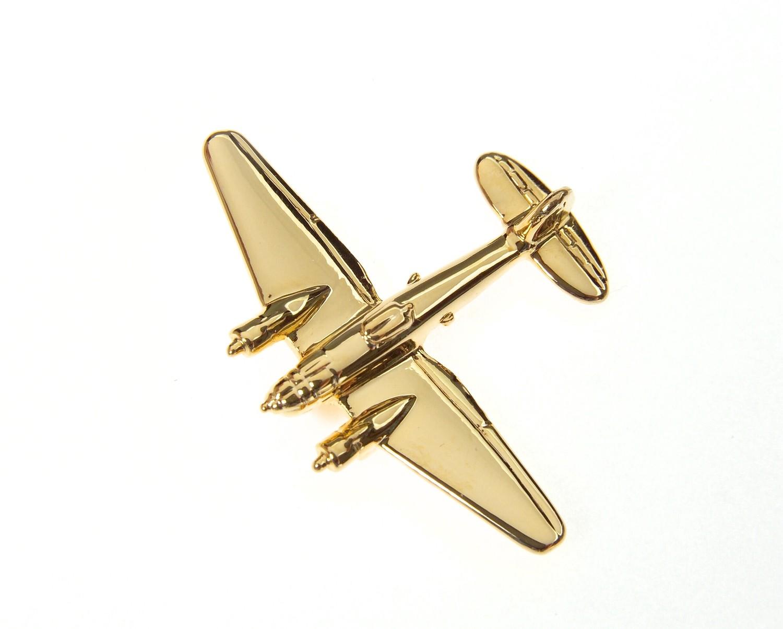 Heinkel 111Gold Plated Tie / Lapel Pin