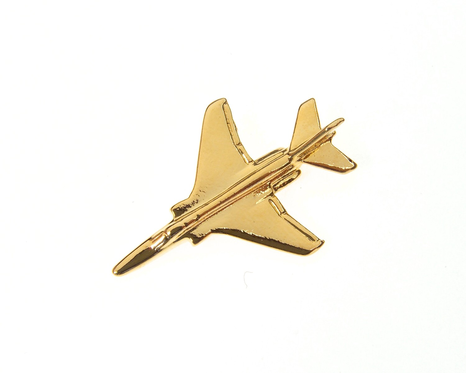 Jaguar Gold Plated Tie / Lapel Pin