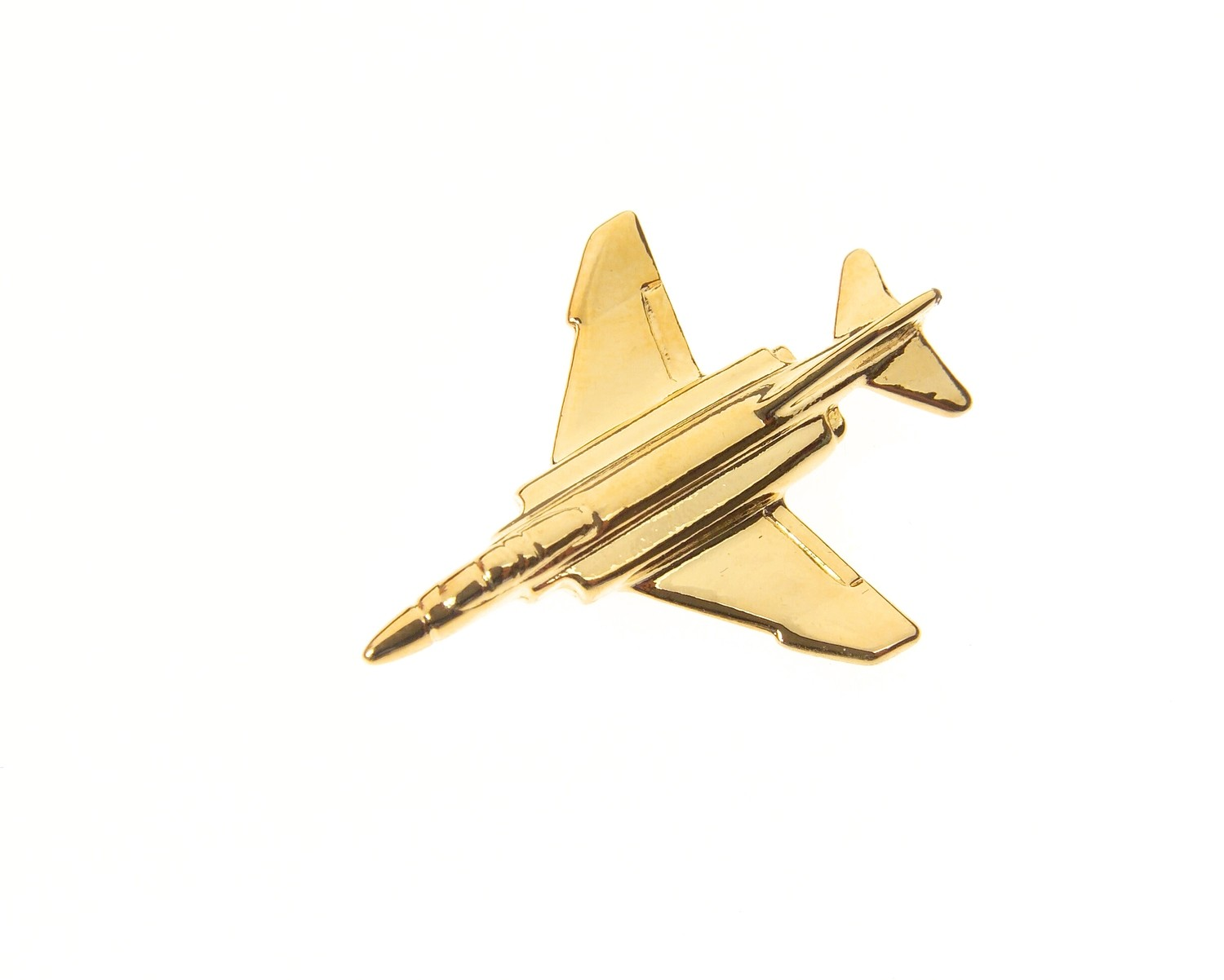 F4 Phantom II Gold Plated Tie / Lapel Pin