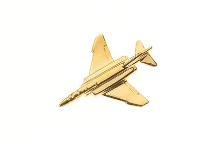 F4 Phantom II Gold Plated Tie / Lapel Pin
