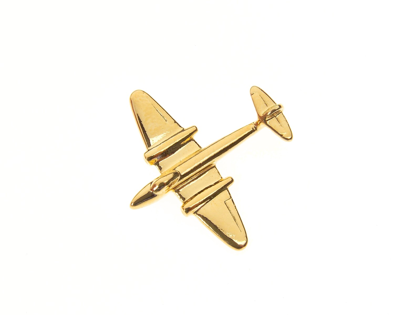 Meteor Gold Plated Tie / Lapel Pin