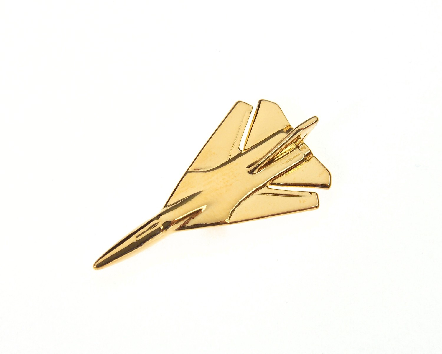 F111 Gold Plated Tie / Lapel Pin