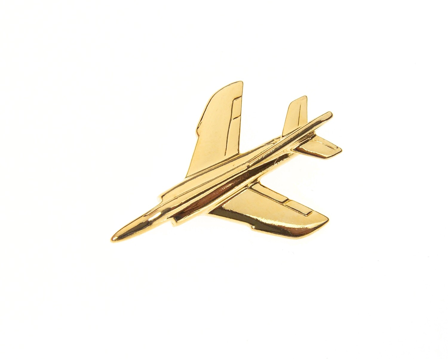 Etendard Gold Plated Tie / Lapel Pin