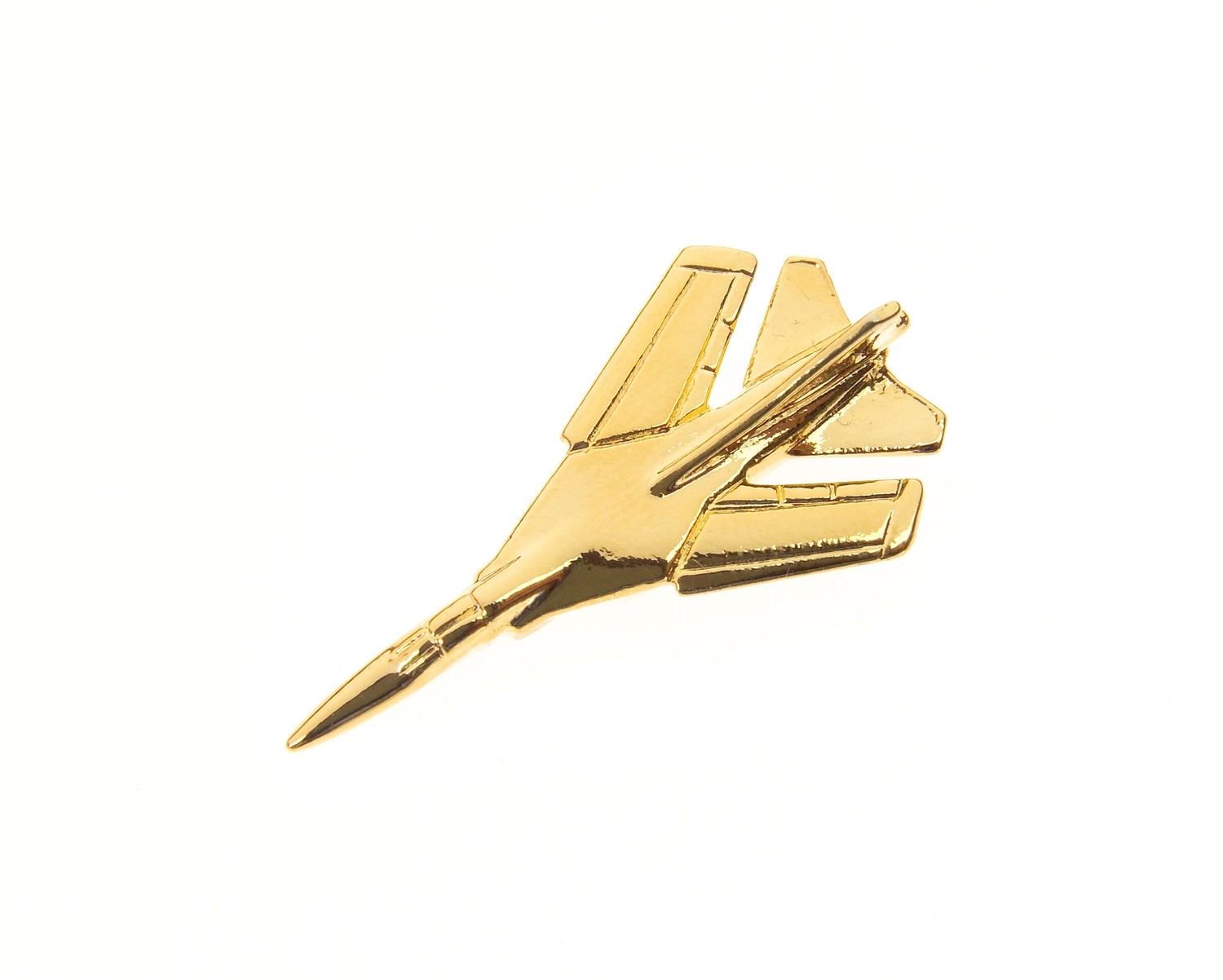 Mig 23 Flogger Gold Plated Tie / Lapel Pin