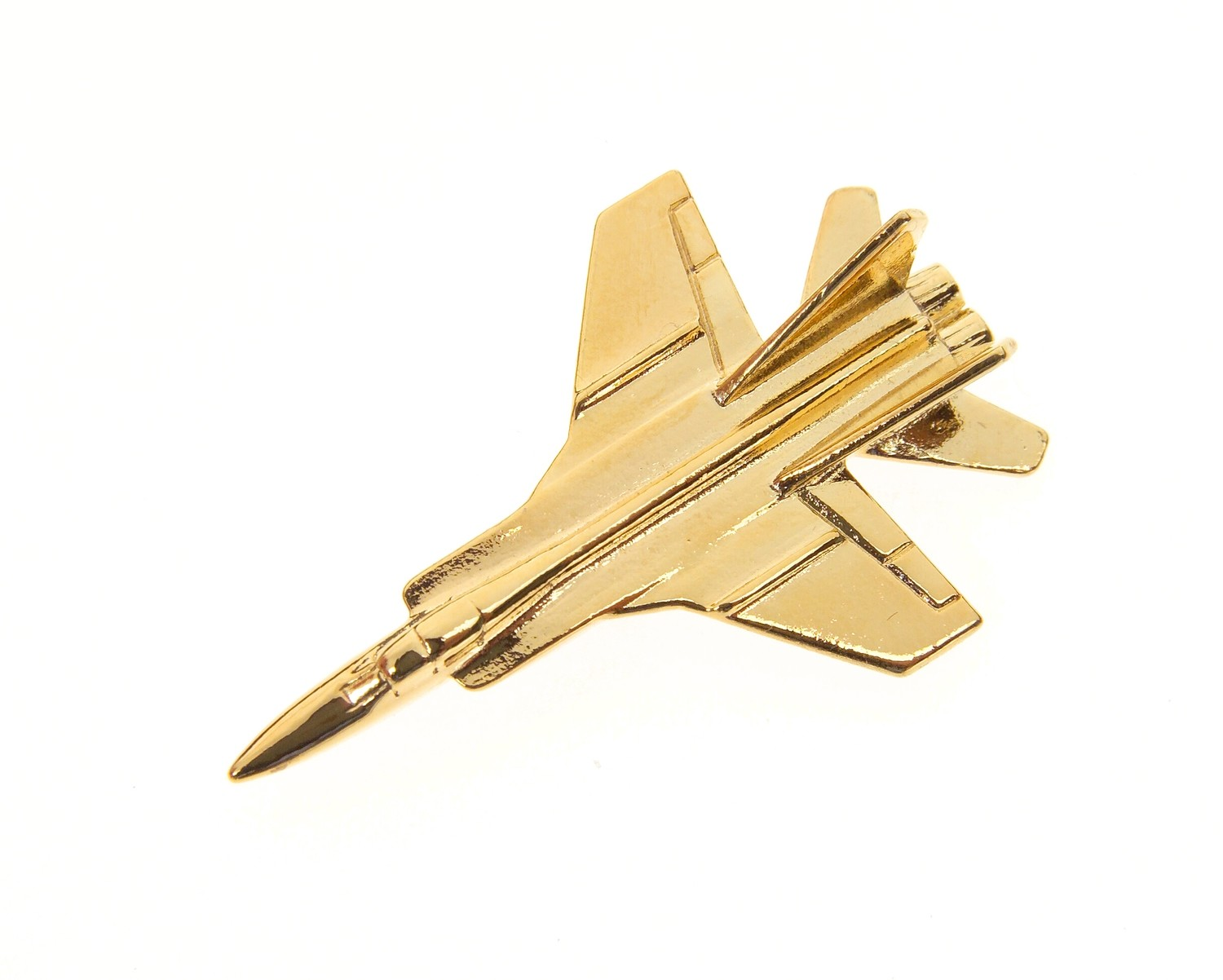 Mig 31 Foxhound Gold Plated Tie / Lapel Pin