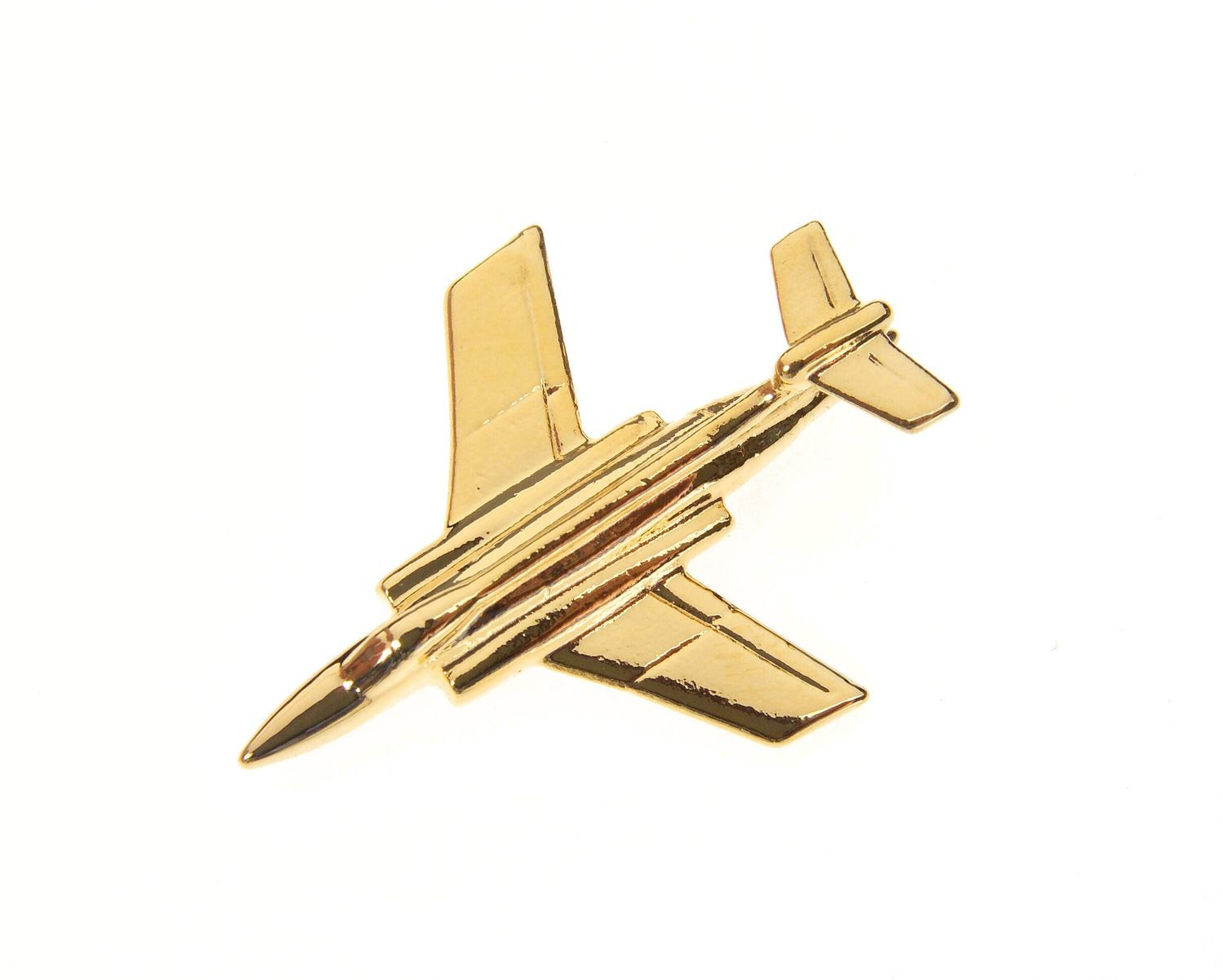 Buccaneer Gold Plated Tie / Lapel Pin