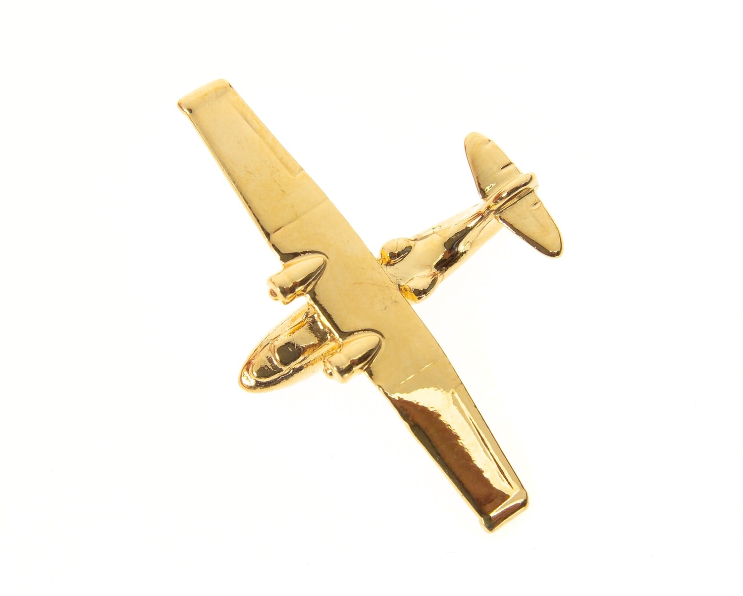 Catalina Gold Plated Tie / Lapel Pin