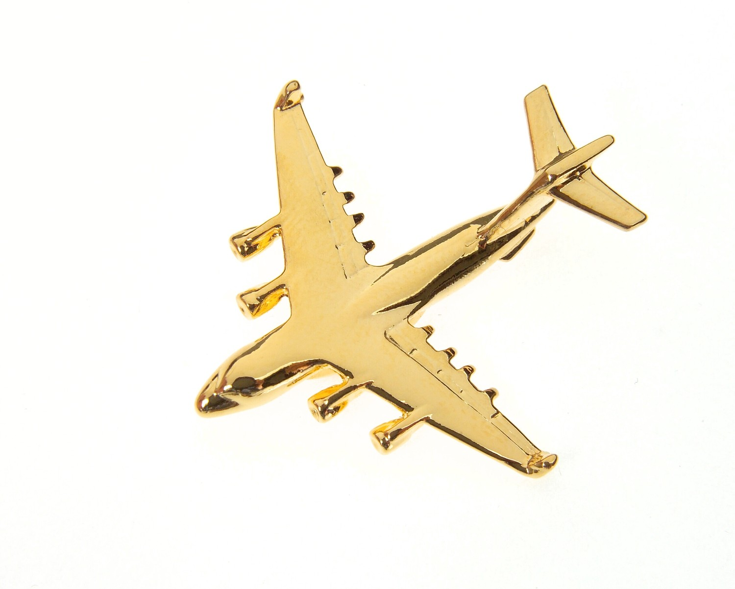 C-17 Globemaster Gold Plated Tie / Lapel Pin C17