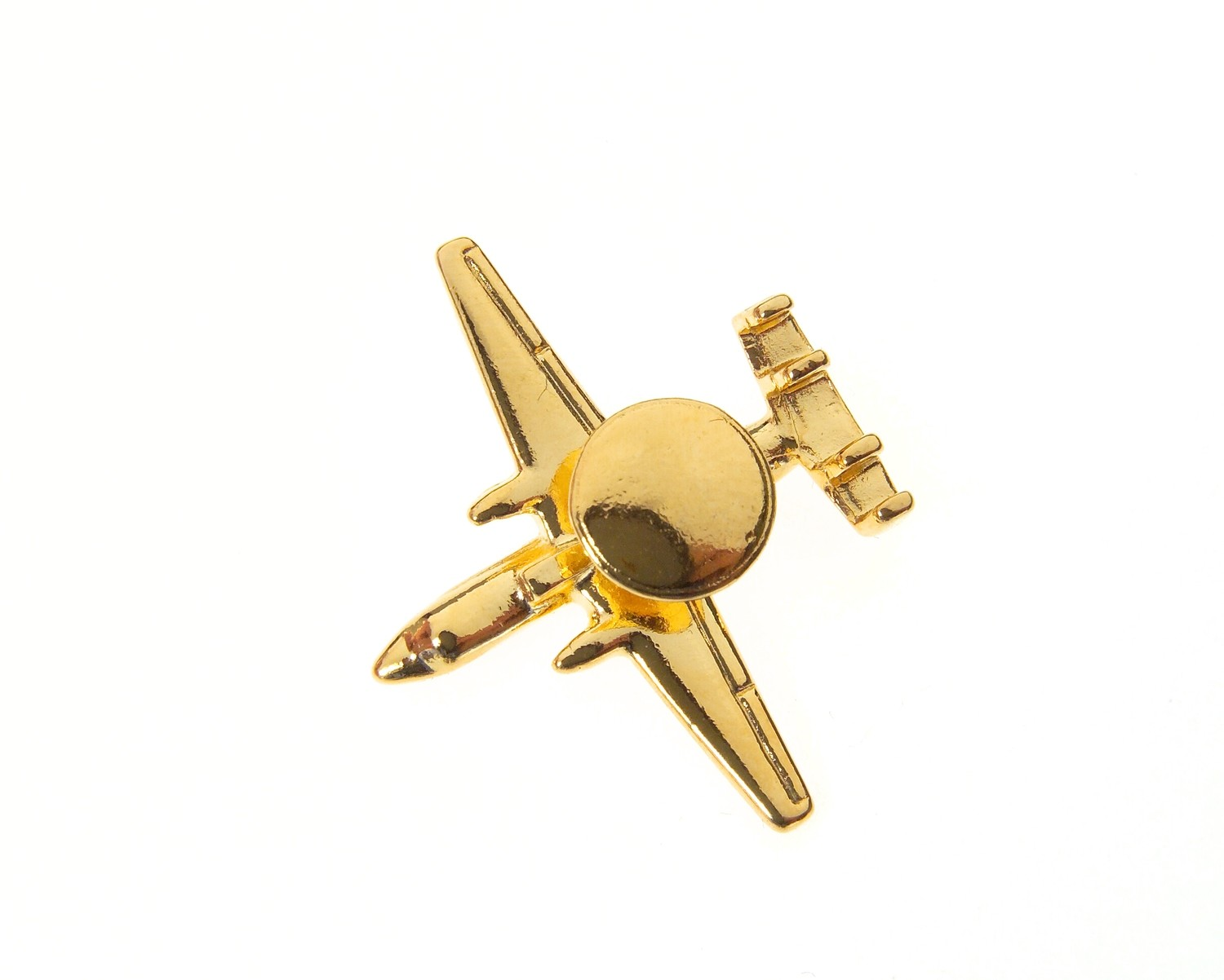 E2 Hawkeye Gold Plated Tie / Lapel Pin