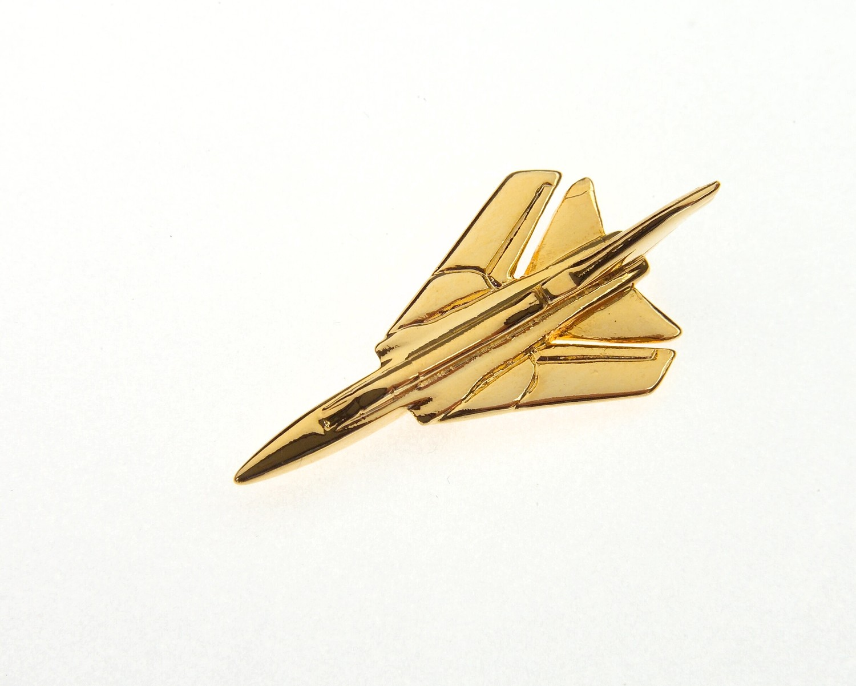 Tornado Gold Plated Tie / Lapel Pin