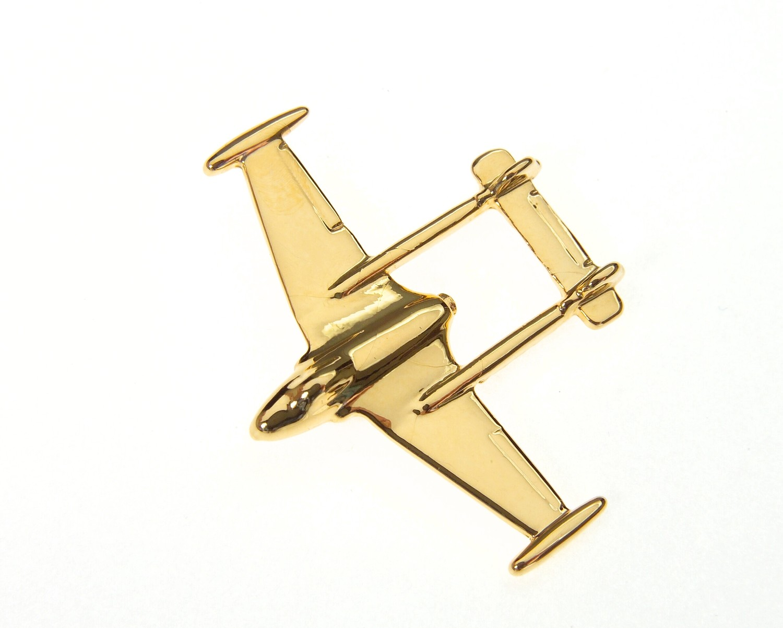 Venom Gold Plated Tie / Lapel Pin