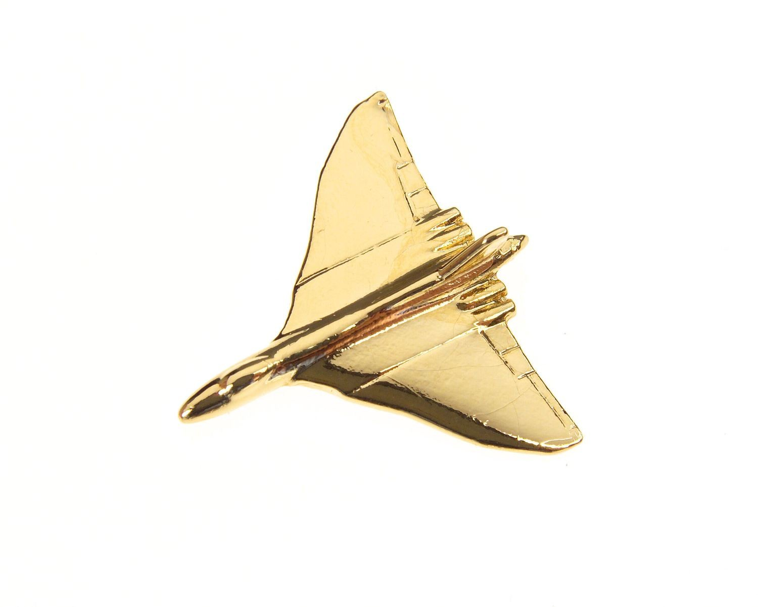 Vulcan Gold Plated Tie / Lapel Pin