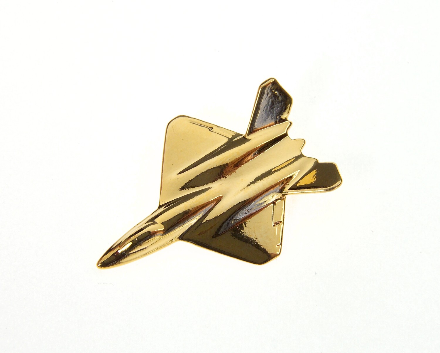 YF23 Gold Plated Tie / Lapel Pin