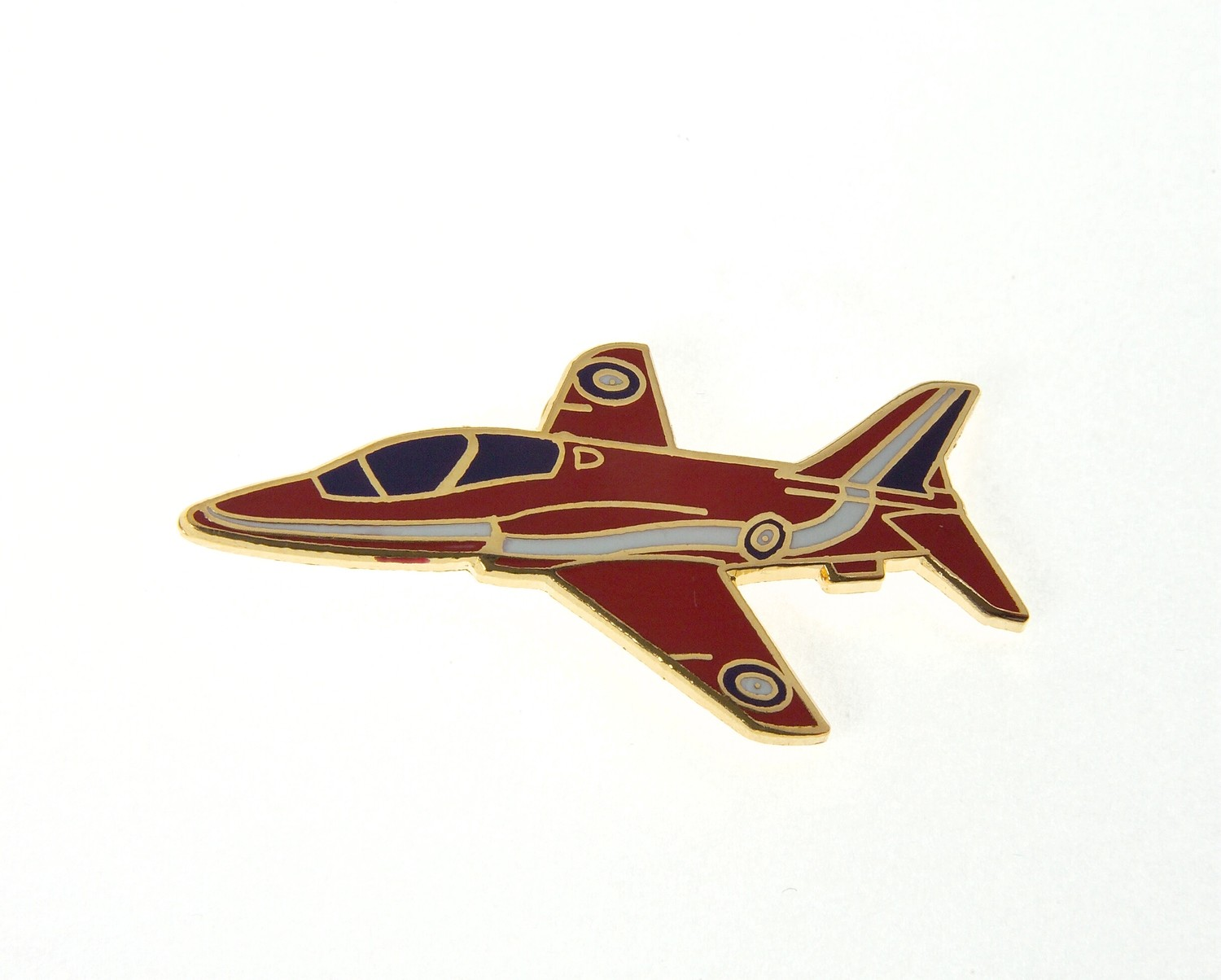 Red Arrow Gold Plated Tie / Lapel Pin