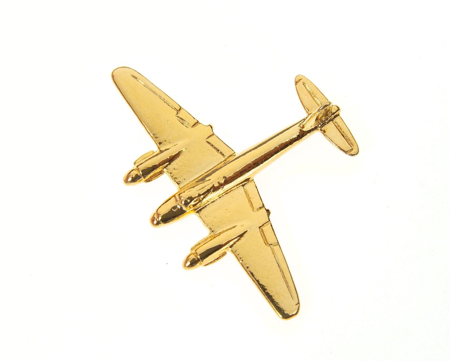 Mosquito 'Wooden Wonder' Gold Plated Tie / Lapel Pin