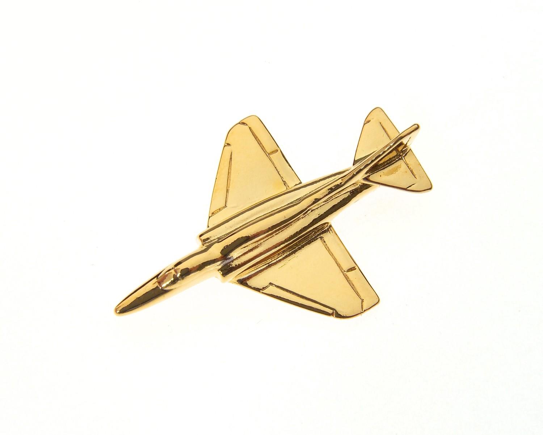 A4 Skyhawk Gold Plated Tie / Lapel Pin Sky Hawk