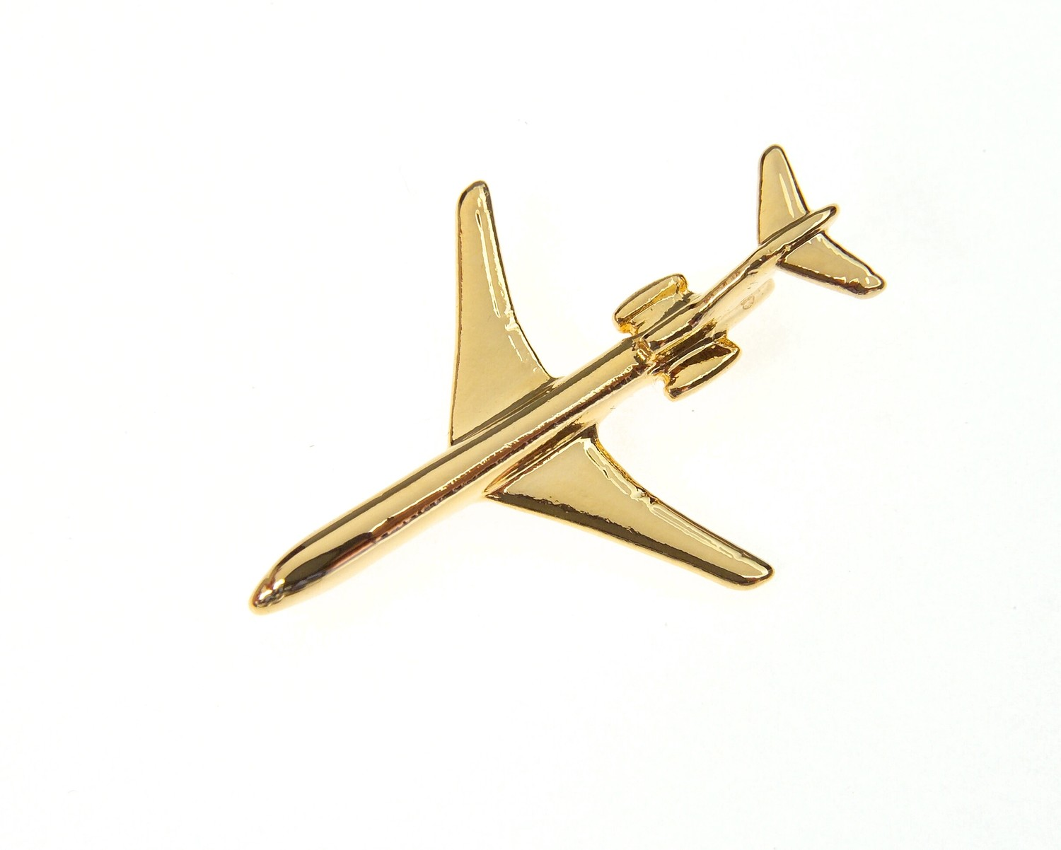 Boeing 727 Gold Plated Tie / Lapel Pin