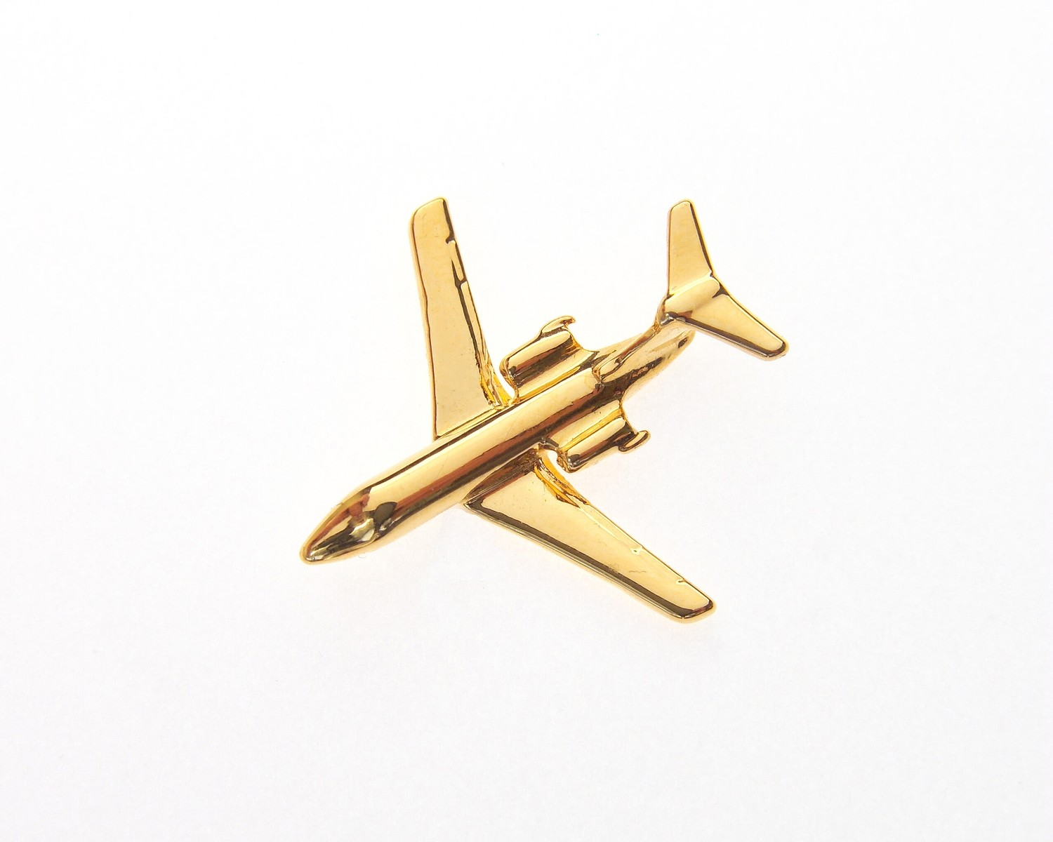 Cessna Citation III / IV Gold Plated Tie / Lapel Pin