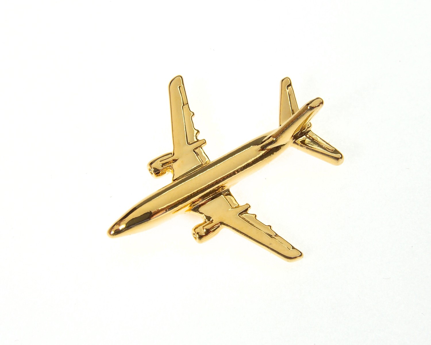 Boeing 737-500 Gold Plated Tie / Lapel Pin