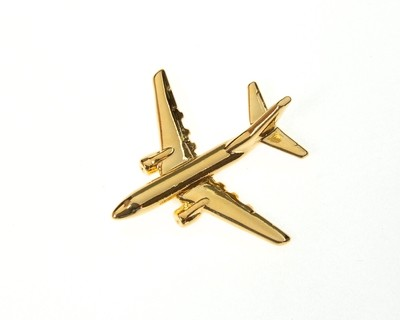 Boeing 737-600 Gold Plated Tie / Lapel Pin
